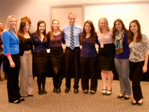 Our fabulous executive board